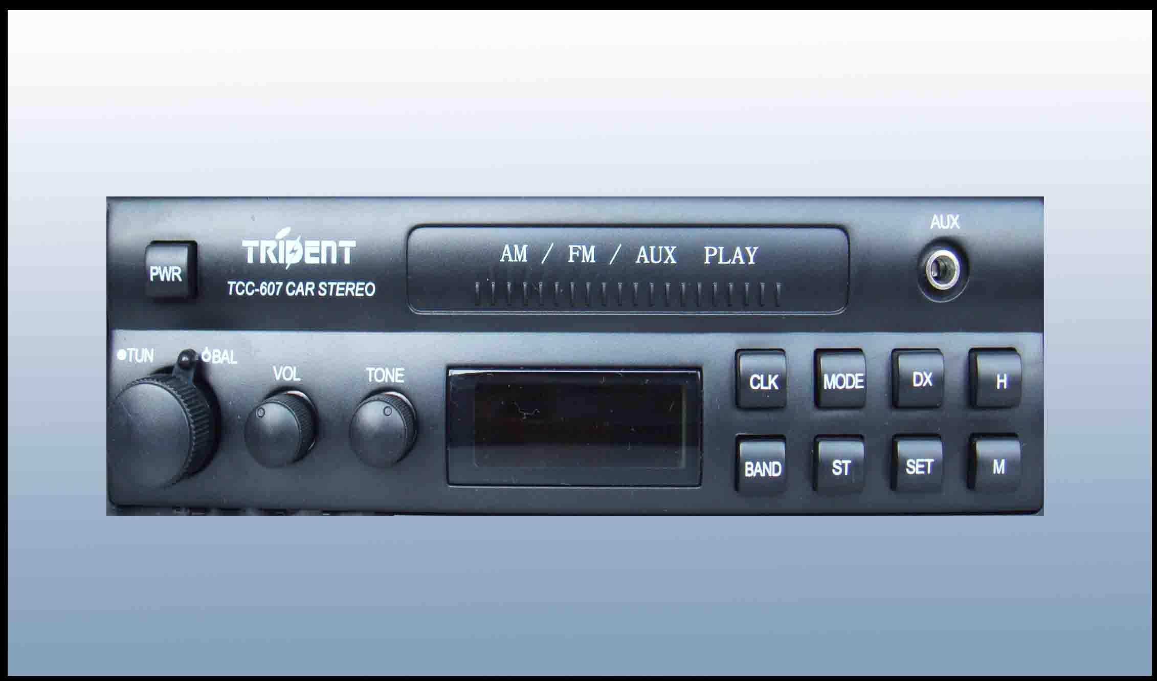 多种声效播放模式; 多波段fm1/2,am1数字显示控制; 电台自动扫描,预选